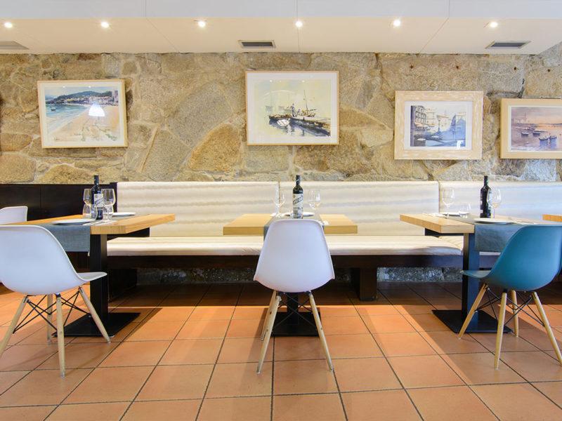 Mesas restaurante Pazo Mendoza