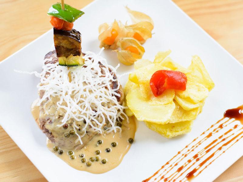 plato restaurante taberna mendoza