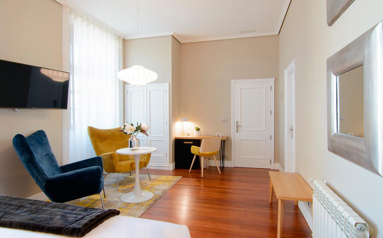 habitacion hotel baiona pazo mendoza 03